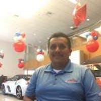 Luis Lopez at Raceway Nissan