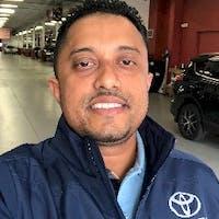 Devindra James at Advantage Toyota Valley Stream