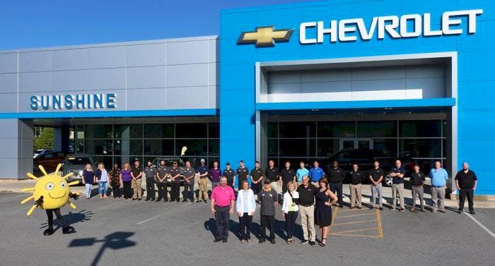 Sunshine Chevrolet, Arden, NC, 28704
