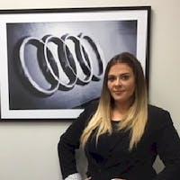 Kayla DiPaolo at Audi Brookline