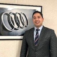 Patrick Chahwan at Audi Brookline