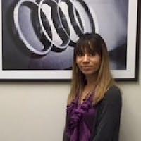 Stephanie Bagu at Audi Brookline