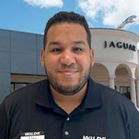 Luis Montiel at Wilde Jaguar Sarasota