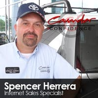 Spencer Herrera at Cavender Toyota