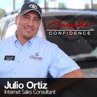 Julio Ortiz at Cavender Toyota