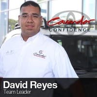David Reyes at Cavender Toyota