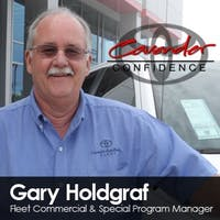 Gary Holdgraf at Cavender Toyota