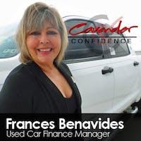 Frances Benavides at Cavender Toyota