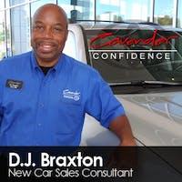 D J Braxton at Cavender Toyota