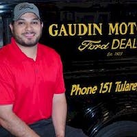 Alan Esparza at Gaudin Ford
