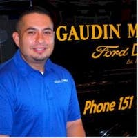 Tony Lucero at Gaudin Ford