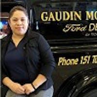 Mayra Ayala at Gaudin Ford