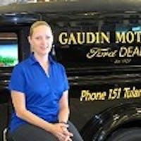Dorrece Troyer at Gaudin Ford