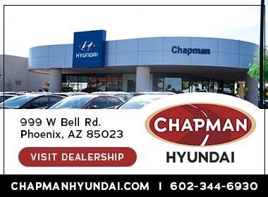 Chapman Hyundai Phoenix, Phoenix, AZ, 85023