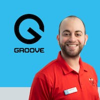 Russell Micholeson at Groove Ford