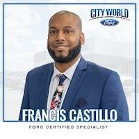 Francis  Castillo at City World Ford