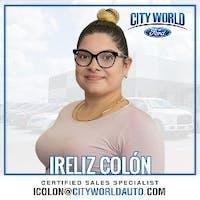 Ireliz  Colón  at City World Ford