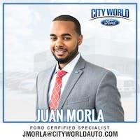 Juan  Morla at City World Ford