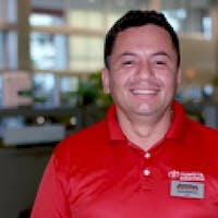Javier Ramirez at Toyota of Deerfield Beach