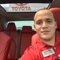 Diego Arango at Toyota of Deerfield Beach