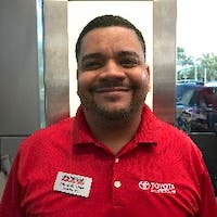 Jose Martinez at Toyota of Deerfield Beach