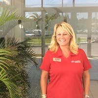 Angel Russell at Toyota of Deerfield Beach