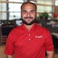Andres Moncada at Toyota of Deerfield Beach
