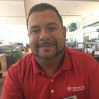 Joel Salazar at Toyota of Deerfield Beach