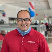 Adan Garcia at Toyota of Deerfield Beach
