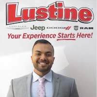 Daniel  Khan at Lustine Chrysler Dodge Jeep