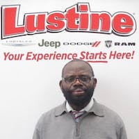 Basil Di-ke at Lustine Chrysler Dodge Jeep