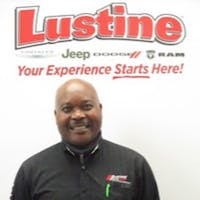 Ike  Lemuwa at Lustine Chrysler Dodge Jeep