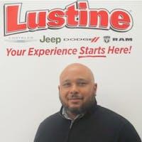 Marcel Mosley at Lustine Chrysler Dodge Jeep