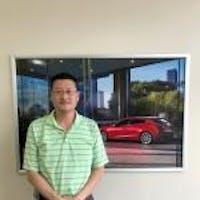 Sung-Ho Lee at Hyman Bros. Mazda