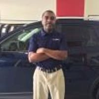 Cleon Skinner at Hyman Bros. Mazda