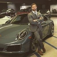 "Hartman ""Hart""  Benson at Porsche Fremont"