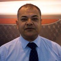Muneer  Nabizada at Porsche Fremont