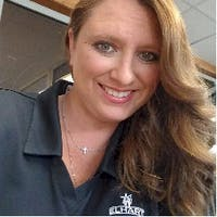 Brittany  Midolo at Elhart Automotive Campus