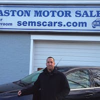 Eric Giovanello at South Easton Motor Sales