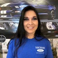 Amanda  McPeek at Sarchione Ford Of Waynesburg