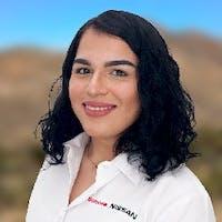 Victoria Peralta Fimbres at Sonora Nissan