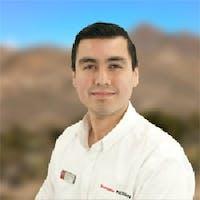 Cristian Perez at Sonora Nissan