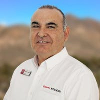 Juan Ruvalcaba at Sonora Nissan