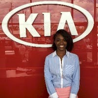 Karen Herbert at Destination Kia