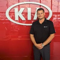 Anthony Blancha at Destination Kia