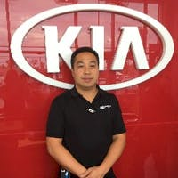 Kenny Lau at Destination Kia