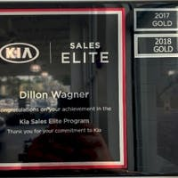 Dillon Wagner at Destination Kia
