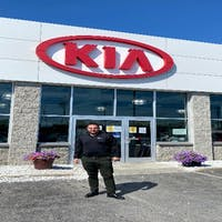 Mike Donadio at Destination Kia