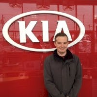 Will Richards at Destination Kia