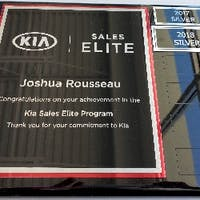 Josh Rousseau at Destination Kia
